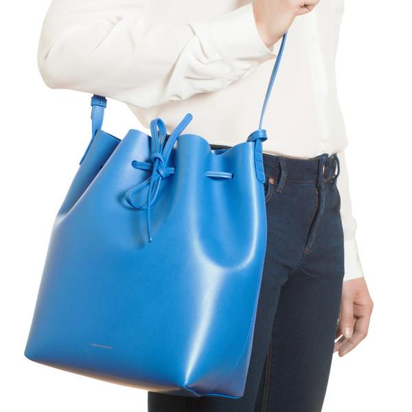 Wiki Sale Online The Best Store To Get Bucket bag - Blue Mansur Gavriel In China Cheap Online Free Shipping Choice bk7ix2Z