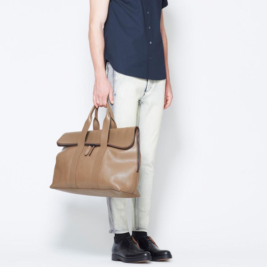 Boys carry bags, too!