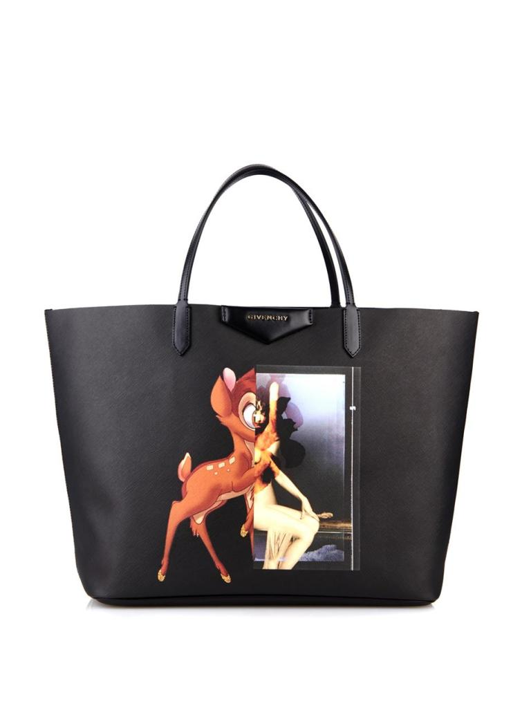 Givenchy Bambi Print Coated Canvas