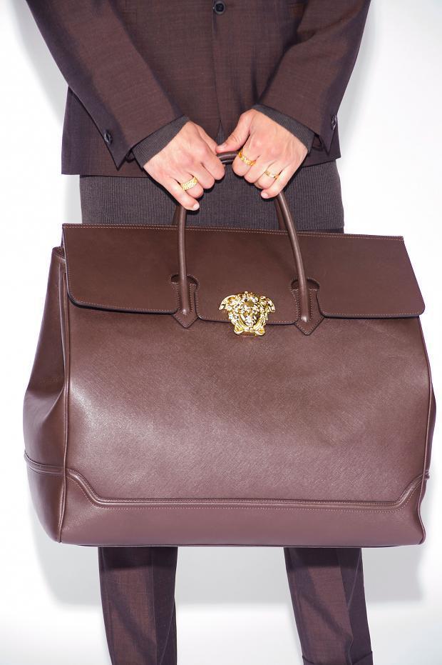 versace man bag