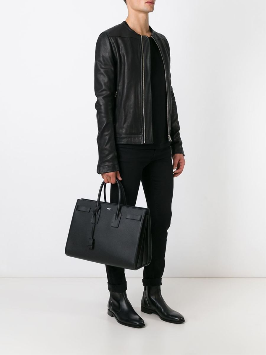Saint Laurent Designates the Large Sac De Jour for Men's