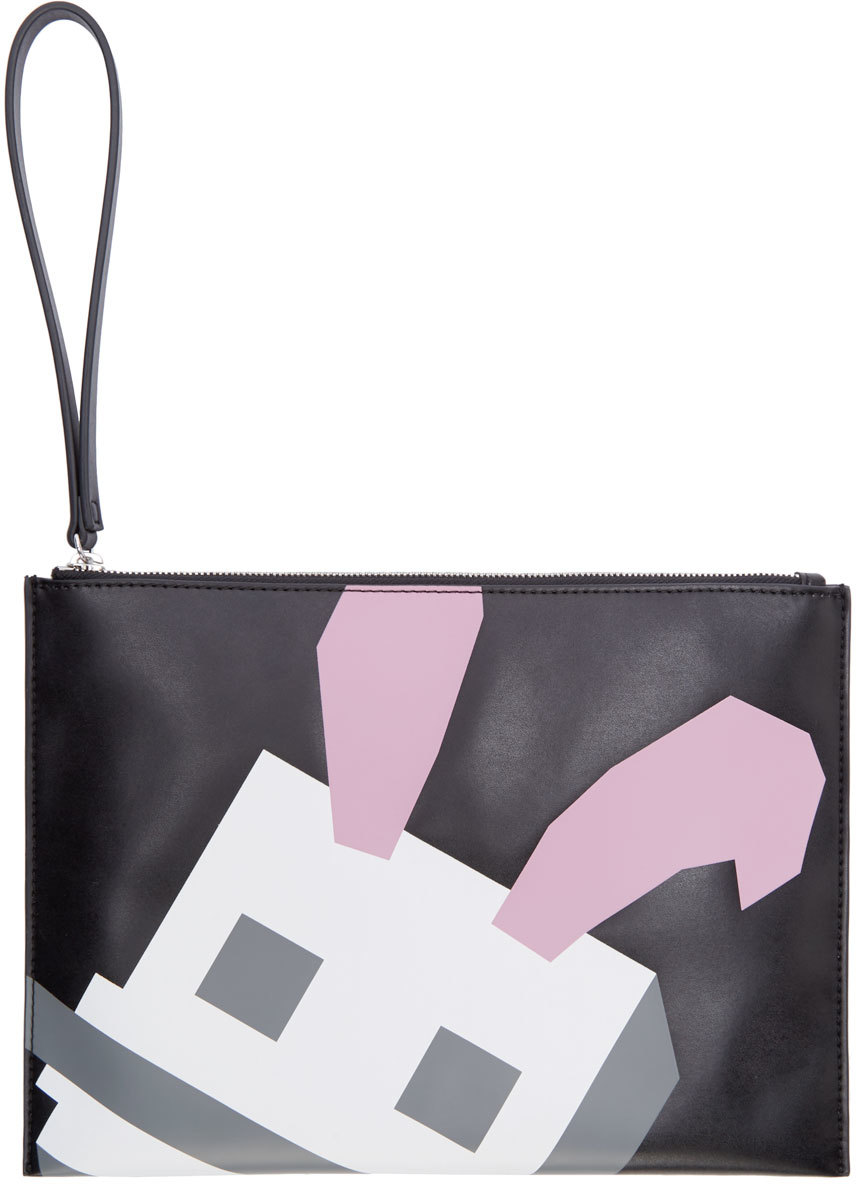 AMcQ Bunny Leather Pouch 01