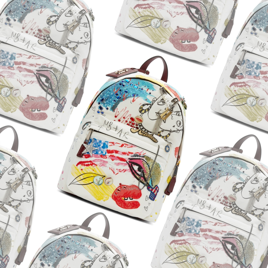 MJ Collage Backpack