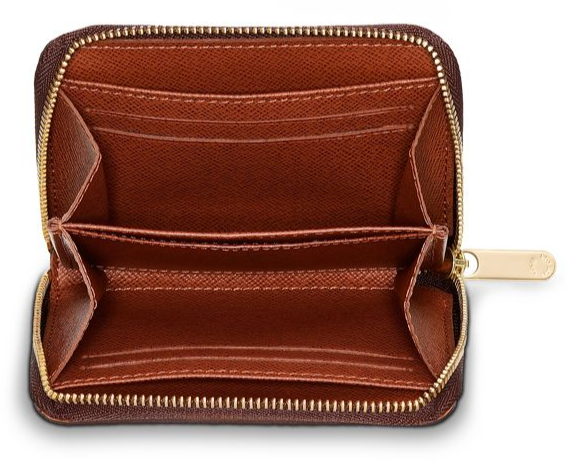 Zippy Coin Purse Interior