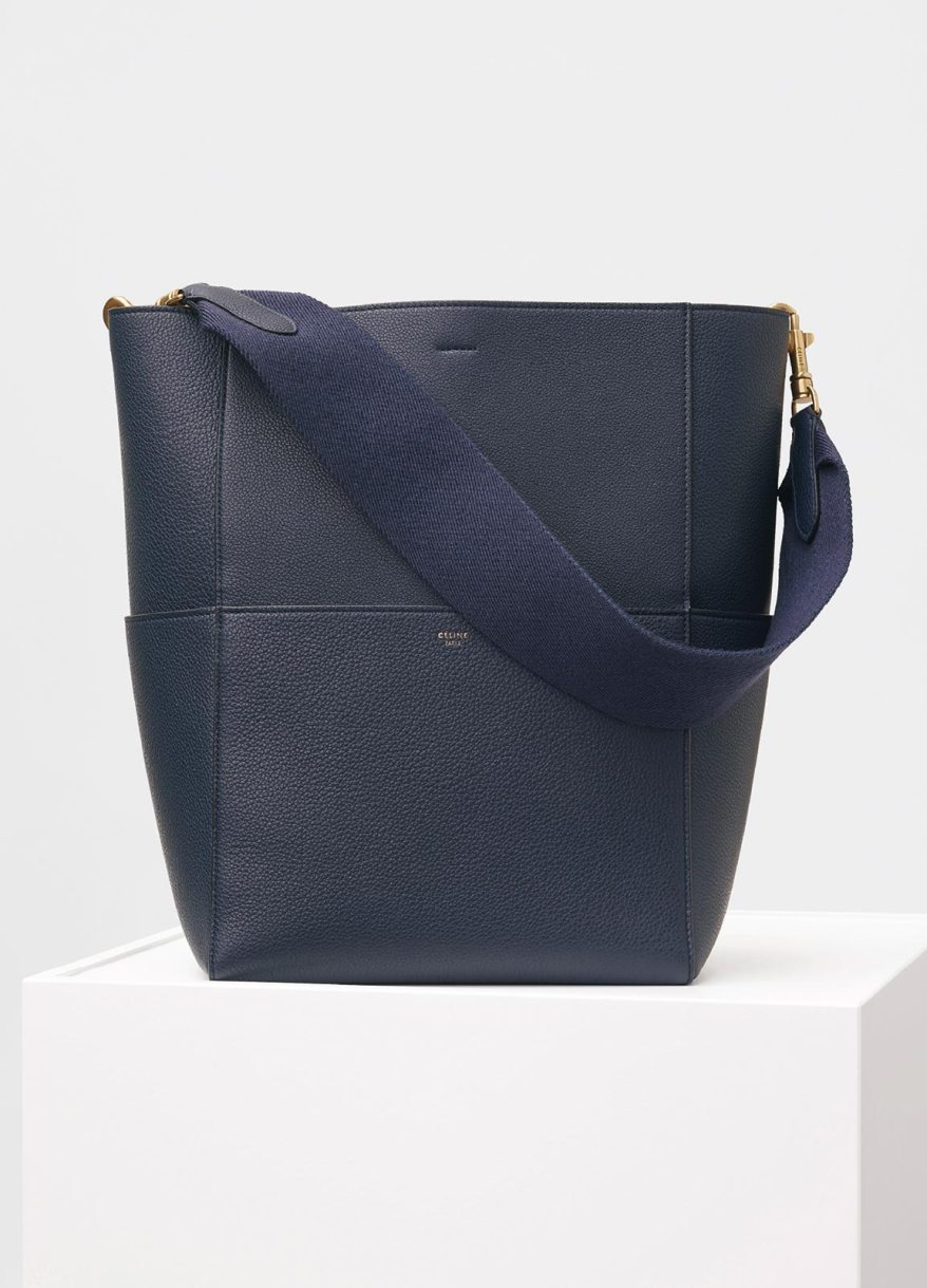 SANGLE SHOULDER BAG Navy Blue