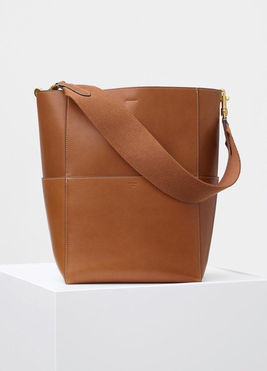 SANGLE SHOULDER BAG Tan