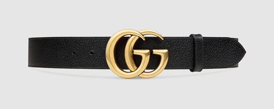 leather-belt-with-double-g-buckle-gold