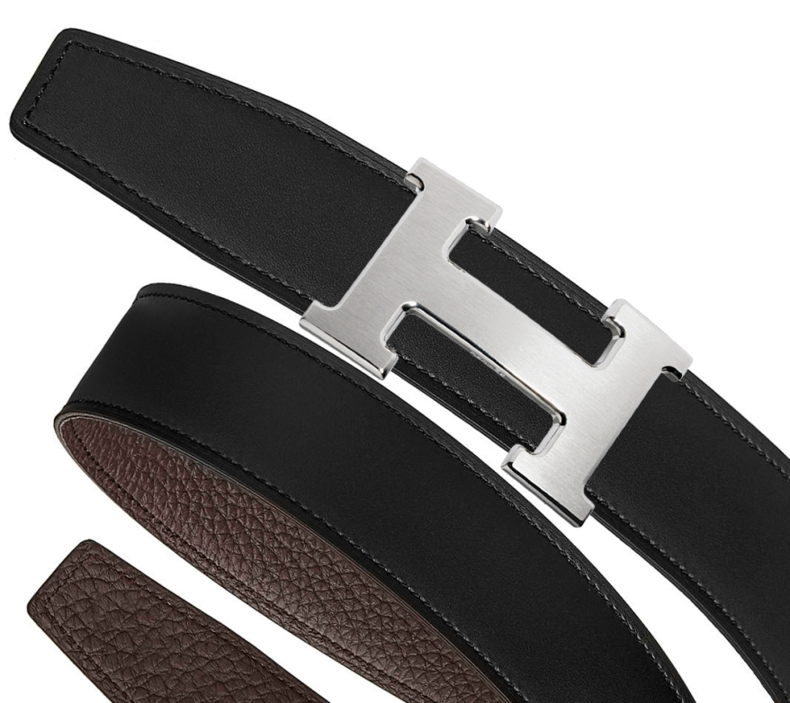 silver-brushed-black-chocolate-hermes-belt-kit-32mm