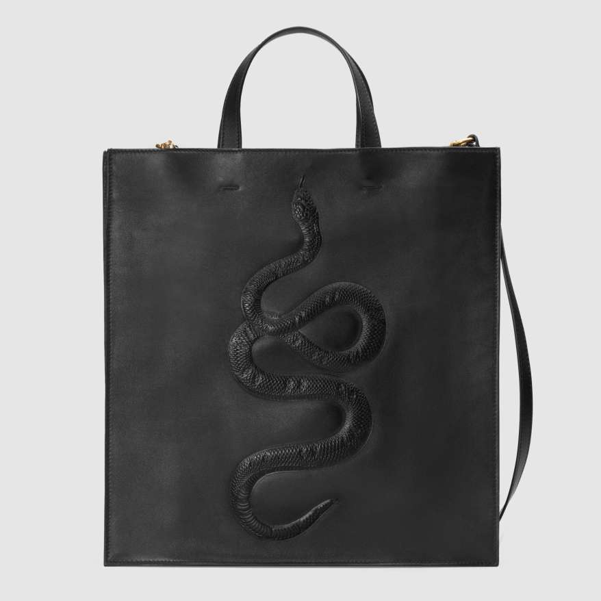 snake-embossed-leather-soft-tote