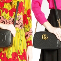 Gucci vs Gucci: Marmont Cross Body versus Soho Leather Disco Bags