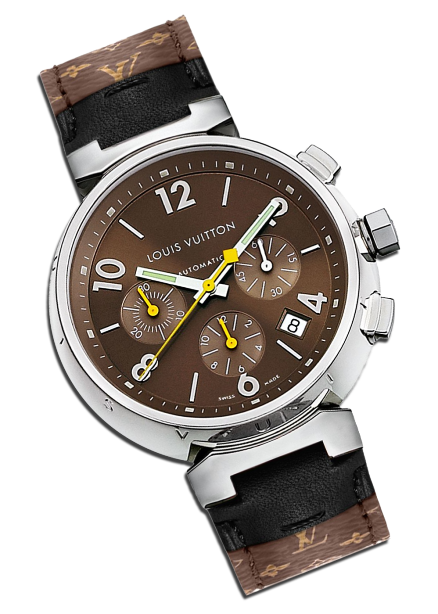 tambour-automatic-chronograph-brown