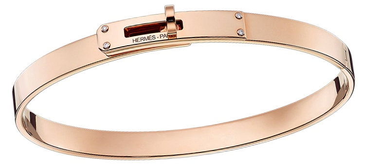 kelly-hermes-bracelet-in-rose-gold-set-with-4-diamonds-0-02-ct