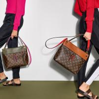Color and Monogram: LV Tuileries