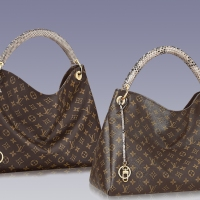 Loving Louis Vuitton's Artsy MM Exotic Monograms