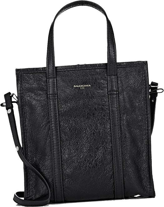 BALENCIAGA Arena Leather Bazar Small Shopper Tote Bag 5