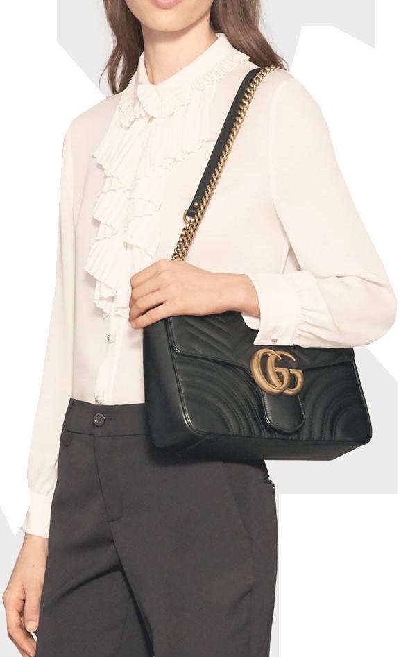 GG Marmont matelassé shoulder bag 3