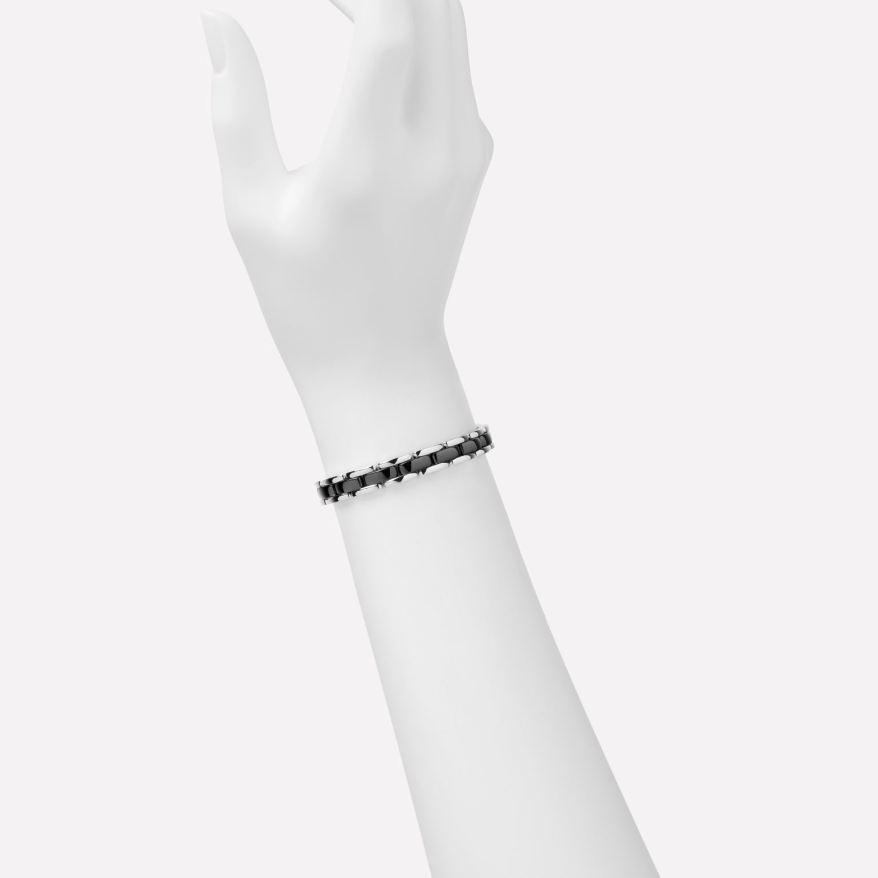ULTRA BRACELET Black Ceramic 18K White Gold modshot