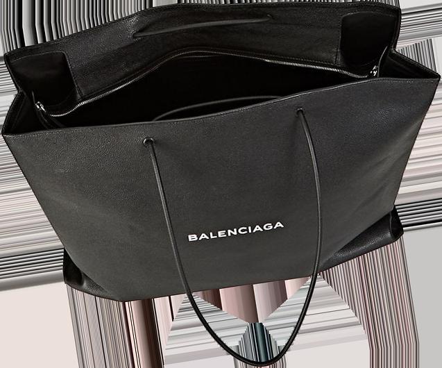 Balenciaga Logo Large Shopping Tote Bag 2