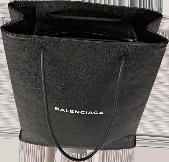 Balenciaga Logo Medium Shopping Tote Bag 2