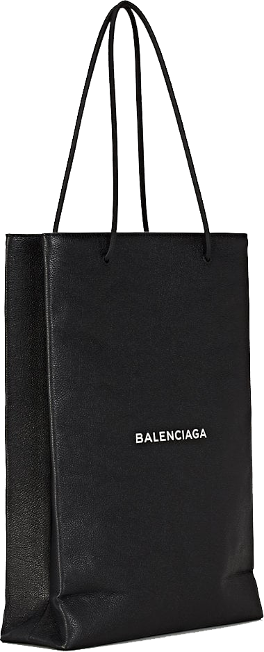 Balenciaga Logo Medium Shopping Tote Bag 3