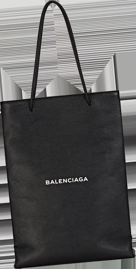 Balenciaga Logo Medium Shopping Tote Bag 5