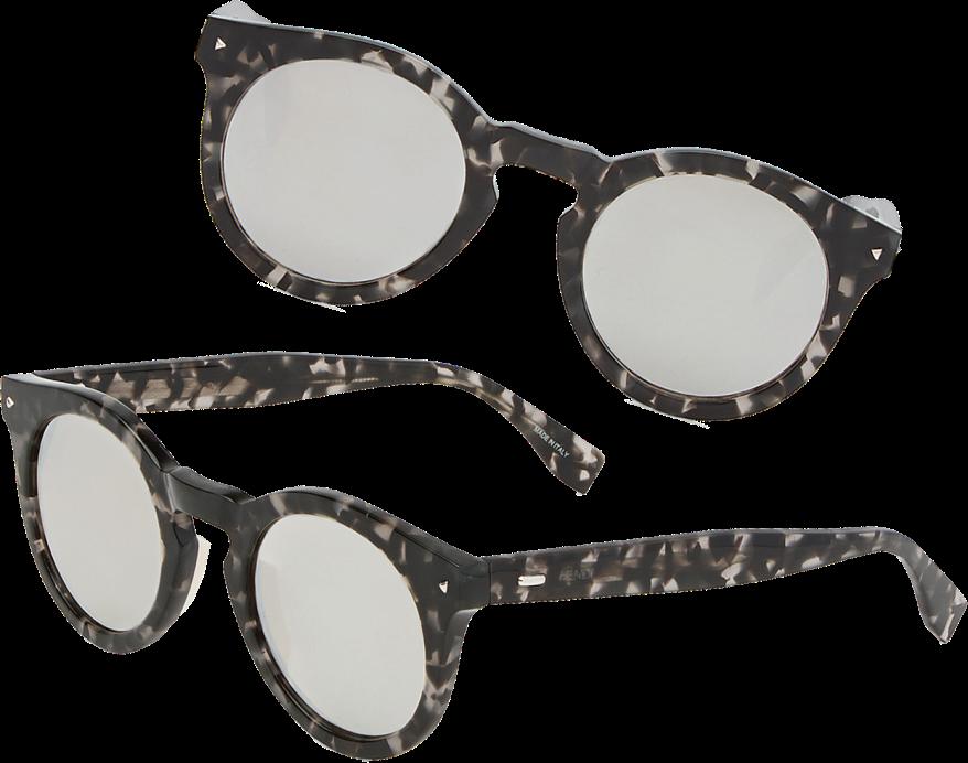 Fendi Sun Fun Dark Havana Sunglasses 1 copy