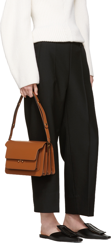 Marni Tan Medium Trunk 3