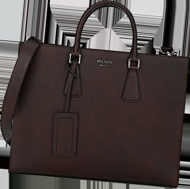 Prada Double-Handle Tote Bag 2