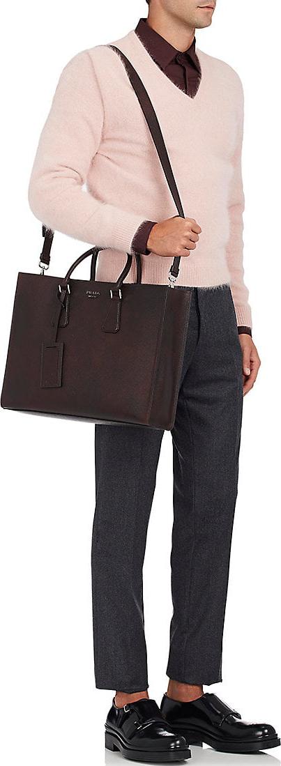 Prada Double-Handle Tote Bag 4