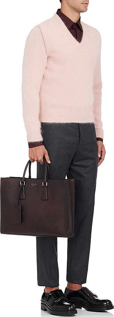 Prada Double-Handle Tote Bag 5