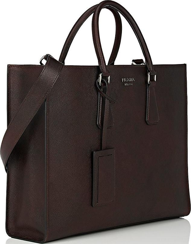 Prada Double-Handle Tote Bag 6