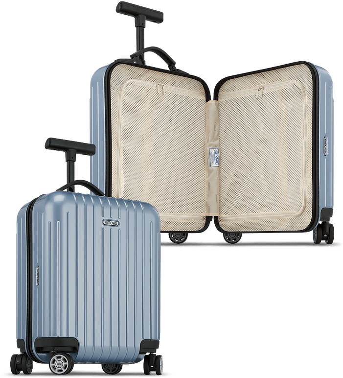 Salsa Air Mini Multiwheel 22.0L Ice Blue carry on luggage
